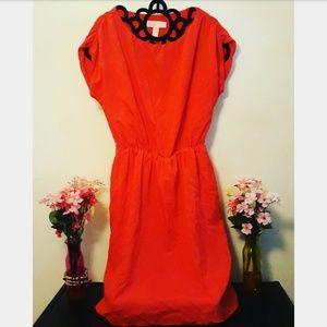 RED MICHEAL KORS DRESS